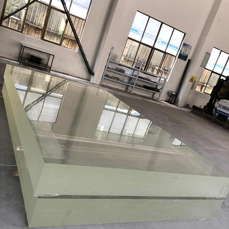 1 inch kaca lembaran akrilik plexi kaca lembaran PMMA tebal plastik untuk penutup rumah kaca