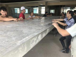 Plastik tahan UV Plexi kaca panel untuk produk kolam renang