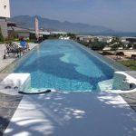 Atap Plastik Transparan untuk Kolam Renang