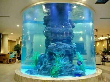 tangki ikan kristal