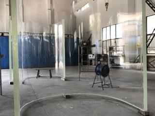kualitas tinggi besar akrilik melengkung akuarium grandview lembar kaca panel