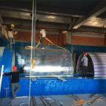 terowongan proyek akrilik Akuarium Akrilik plastik